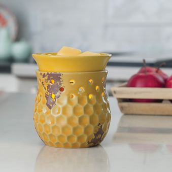 Honeycomb 2-in-1 Flickering Fragrance Warmer