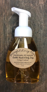 "Hand & Body Soap All Natural ""Crisp Cotton"""