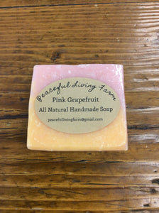 "Soap Bar ""Pink Grapefruit"""
