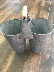 Twin Bucket Caddy - tall
