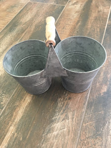 Twin Bucket Caddy - short