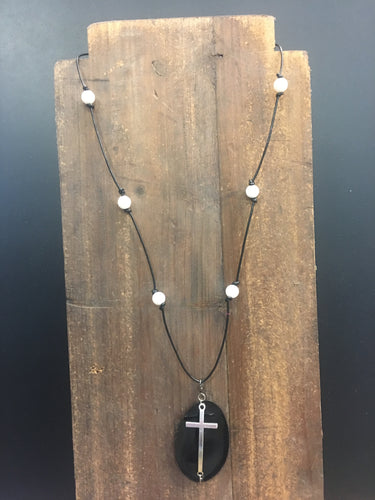 Spoon Necklace - Cross