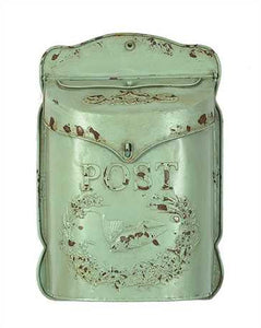 Mint Green Post Box