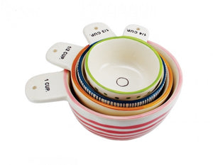 "Rae Dunn ""Measure Twice"" measuring cups"