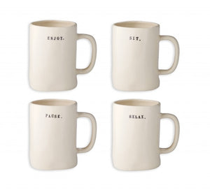 Rae Dunn Chair Mugs