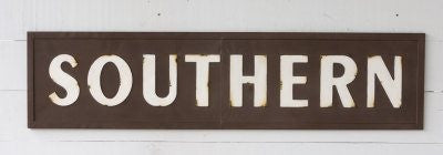 Southern Metal Sign