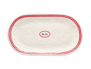 Rae Dunn French Oval Tray