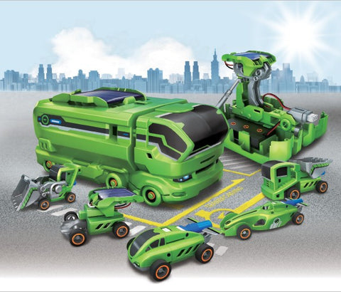 Solar Powered Toy Robot Kits