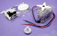 Servo Motor in Clear Case
