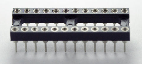 IC Socket 24-Pin Narrow