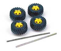 36mm Truck Tire Set (4)