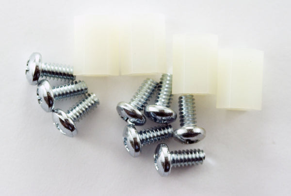 ".375"" Nylon Hex Spacer (Pack of 4)"