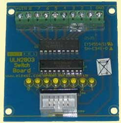 ULN2803 Switch Board