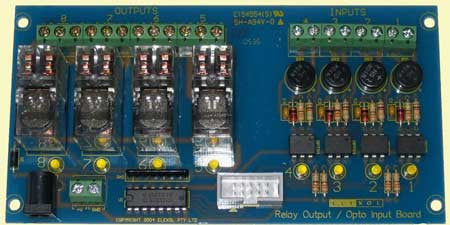 Combo Relay and Opto Board