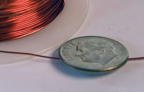 Enamel Magnet Wire 26 AWG (1/4 Pound)