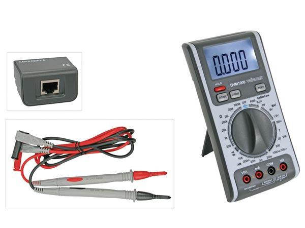 3 IN 1 MULTIMETER - CABLE / LINE TESTER