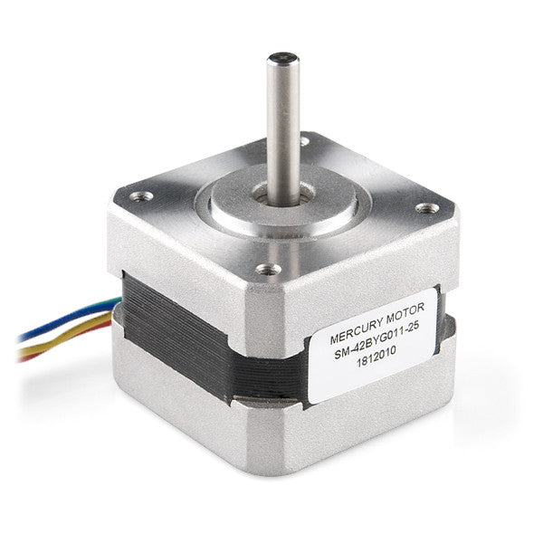 Unipolar Stepper Motor w/ 1.8 Degree Steps