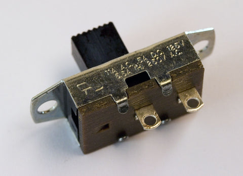 Slide Switch: SPST, Standard Size