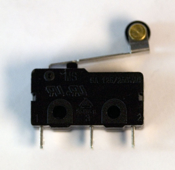 Microswitch: 5A, Roller Arm Actuator