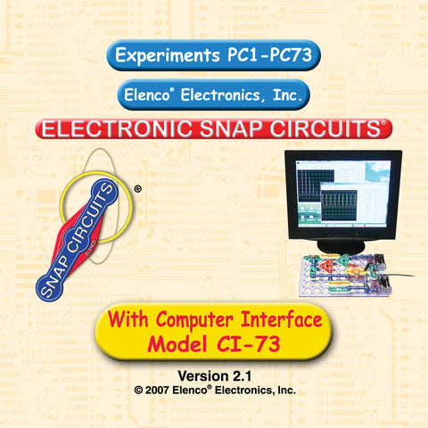 Snap Circuits PC1 - PC73 Instruction Manual