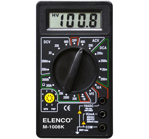 Compact Digital Multimeter Electronic Kit