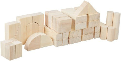 Wood Designs WD60100 Toddler Blocks - 12 Shapes, 36 Pieces