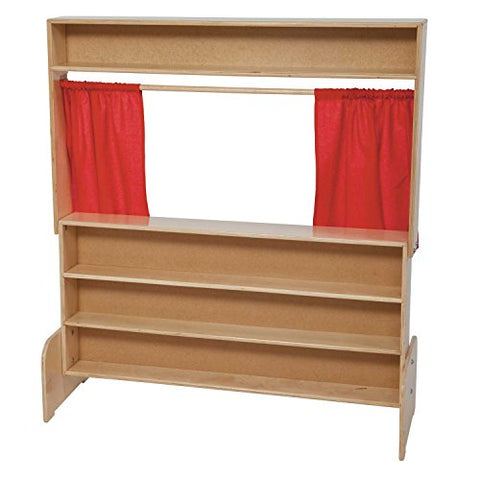 Wood Designs 21651  Deluxe Puppet Theater with Marker Board