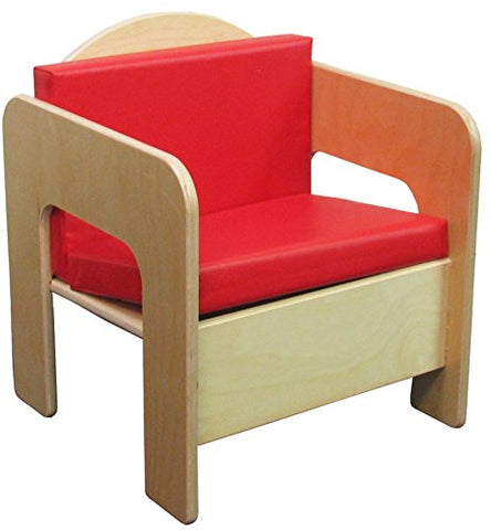 "Wood Designs 31500 Chair, 20"" Height, 17"" Width, 15.75"" Length"
