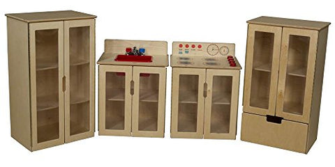 15 Length 34.62 Height 20.5 Width 15 Length 34.62 Height 20.5 Width Wood Designs 20780 Tip-Me-Not Deluxe Hutch