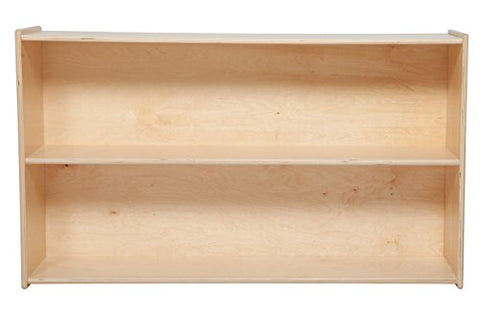 Wood Designs 12680 Tip-Me-Not Shelf Storage