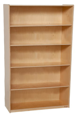 "Wood Designs 13260  X-Deep Bookshelf- 59-1/2"" Height x 18"" Deep (Pack of 4)"