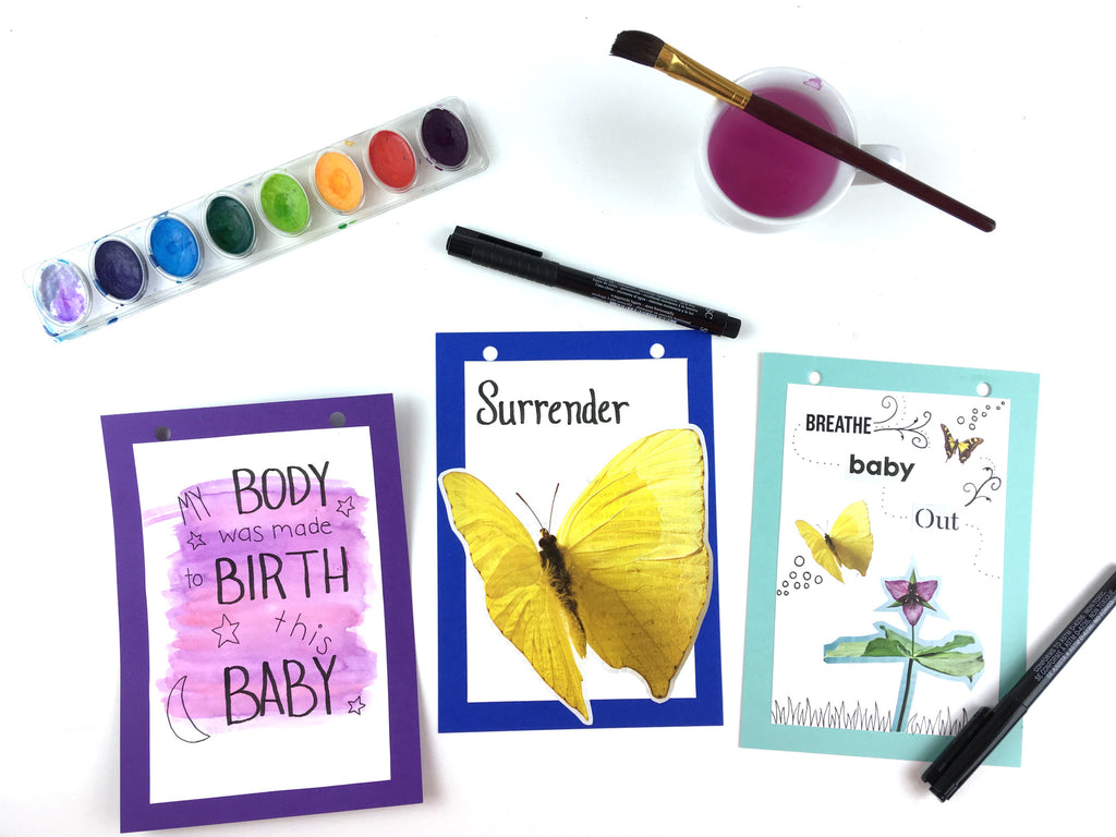 Making your birth affirmation flags about YOU