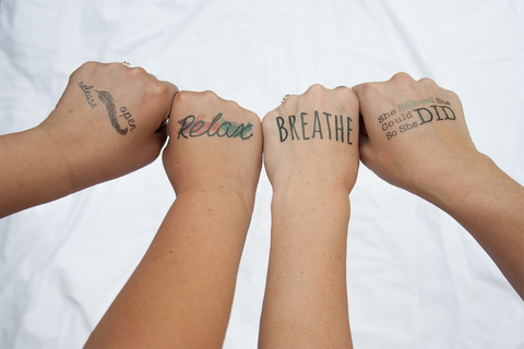 Birth Affirmation Temporary Tattoos