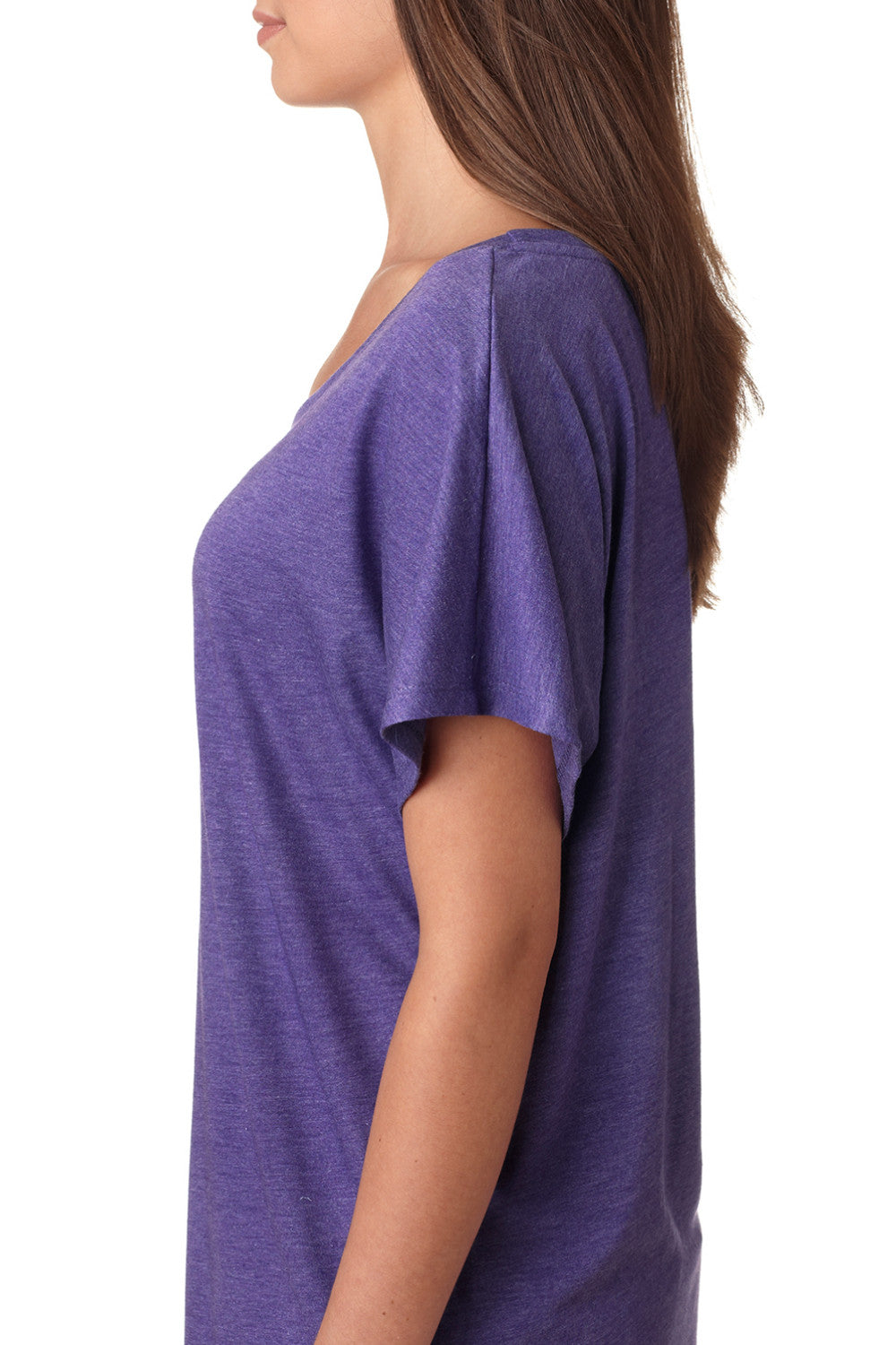 "*Last Chance!* ""Breathe Baby Down"" Dolman Style Shirt in Purple"