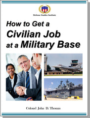 How to Get a Civilian Job at a Military Base