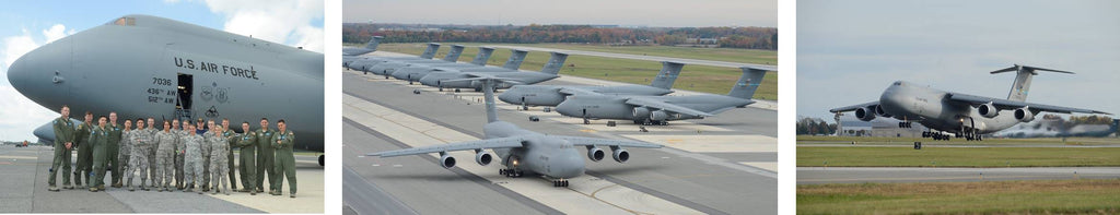 Dover AFB Air Force Base C-5 Galaxy 436 Airlift Wing