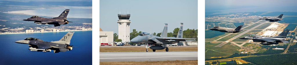 Eglin Air Force Base Runway Florida