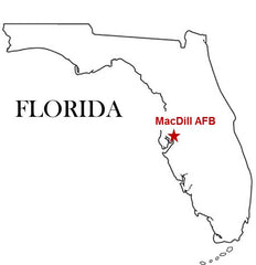 MacDill Air Force Base AFB Tampa Florida
