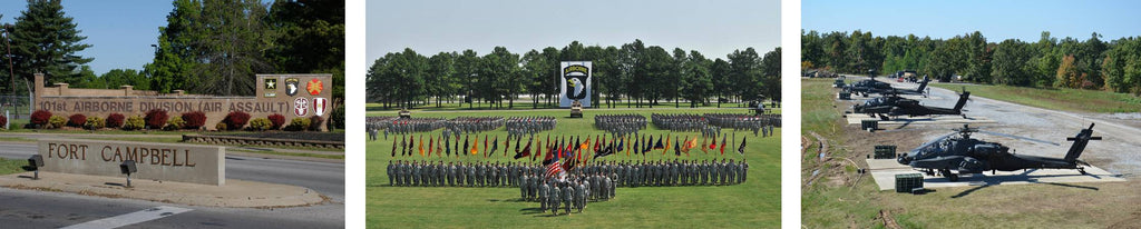 Fort Campbell 101st Airborne 160th SOAR