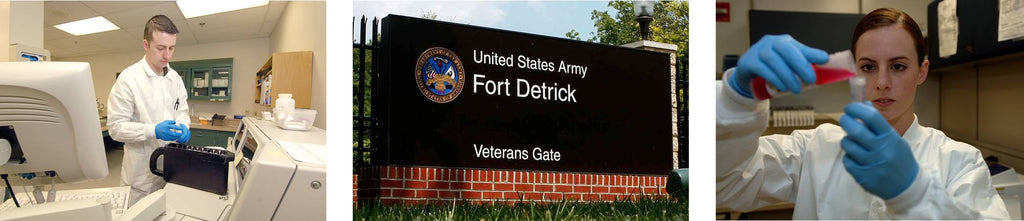 Fort Detrick Army Medical Research Materiel Command USAMRMC