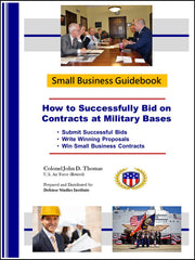 How to Successfully Bid on Contracts at Military Bases