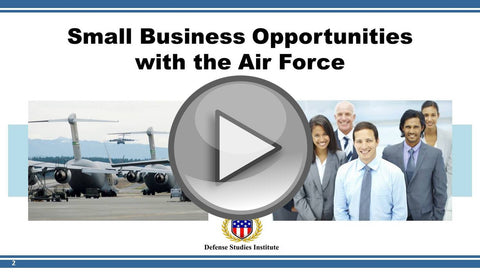 Business Opportunities with the Air Force (VIDEO)