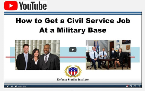 VIDEO - How to Get a Civil Service Job at a Military Base