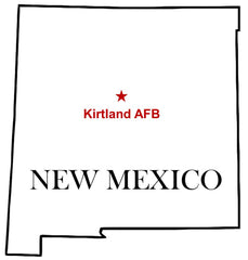 Kirtland Air Force Base Map New Mexico