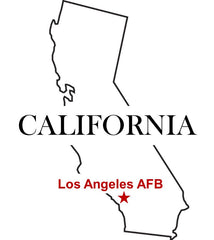 Los Angeles Air Force Base (AFB) Map