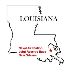 NAS New Orleans Map Joint Reserve Base