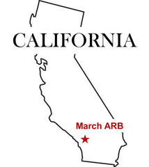 March Air Reserve Base (ARB) Map