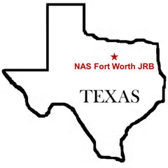 NAS Fort Worth Joint Reserve Base Texas Map