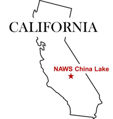 NAWS China Lake Map - U.S. Navy