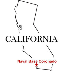 Naval Base Coronado Map San Diego